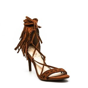 Jessica Simpson Mareya Heeled Sandals Warm Taupe